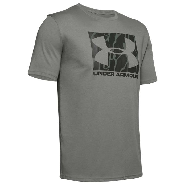 Under Armour Boxed Sportstyle Camo Fill Short-Sleeve T-Shirt for Men - Gravity Green - XL thumbnail