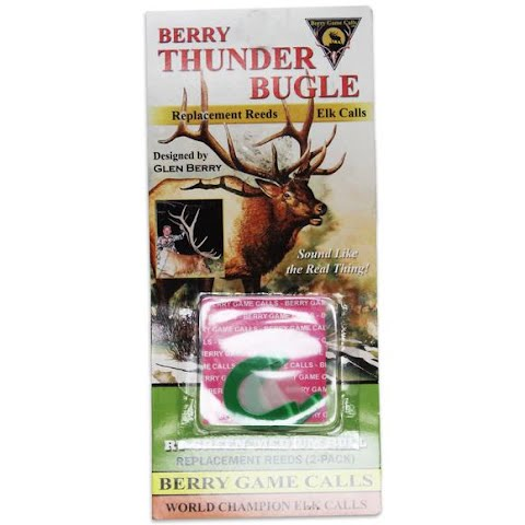 Berry Game Calls Rt - Green Medium Bull Replacement Reeds ( 2 - Pack ) thumbnail