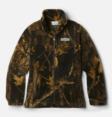 Columbia Boys Zing III Printed Fleece Jacket- thumbnail