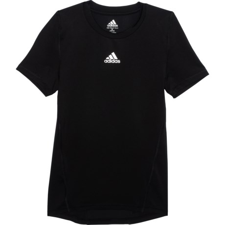 Alphaskin Base Layer Top - Short Sleeve (For Big Boys) - BLACK (S ) thumbnail