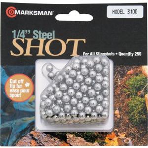 Marksman 3100 250 Count Hunting Shot with All Marksman Slingshot thumbnail