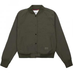 Herschel Supply Co Women's Varsity Jacket - Small - Dark Olive thumbnail