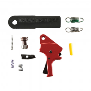 Apex Tactical Drop-in Flat-Faced Forward Set Sear and Trigger Kit for Smith & Wesson M&P Pistol, Red - 100055 thumbnail