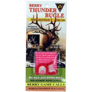 Berry Game Calls Rt - Red Rachorn Bull Replacement Reeds For Thunder Bugle Elk Call thumbnail
