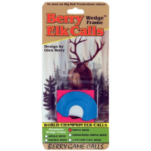 Berry Game Calls Wedge Frame Triple Reed Elk Call thumbnail