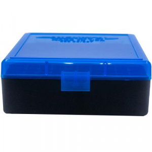 Berry's Ammo Box #003 - .38/.357 cal 100/rd Blue/Black thumbnail