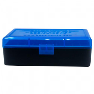 Berry's Ammo Box #407 - .44 cal 50/rd Blue/Black thumbnail
