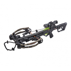 Bear Archery BearX Constrictor CDX Crossbow Package with Illum Scope Rope & Bolts RH / LH - Veil Stroke Camo thumbnail