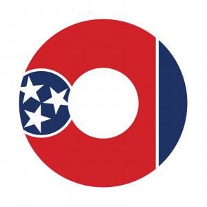 Redington i.D 3/4 wt. Fly Reel Decal Tennessee thumbnail