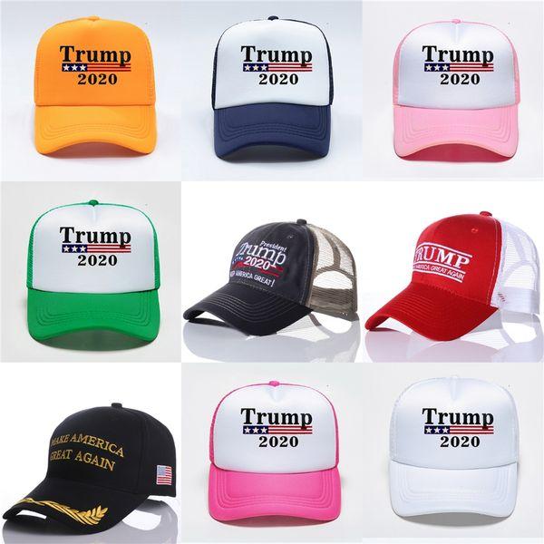 11 styles new president donald trump 2020 hat usa flag star camouflage baseball cap men women cotton hip hop snapback caps hats n92y #837 thumbnail