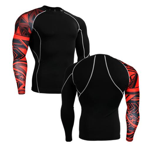 2020 cycling base layer men quality long sleeved men's tshirt high-quality o-neck 3d printed t-shirt thumbnail