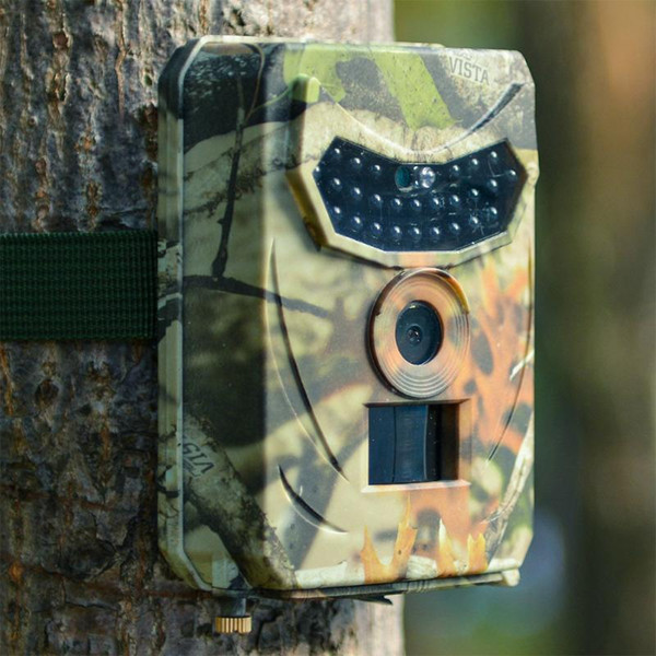 1080p 12mp outdoor hunting trail camera infrared night vision scouting camera for wildlife hunting monitoring and farm security thumbnail