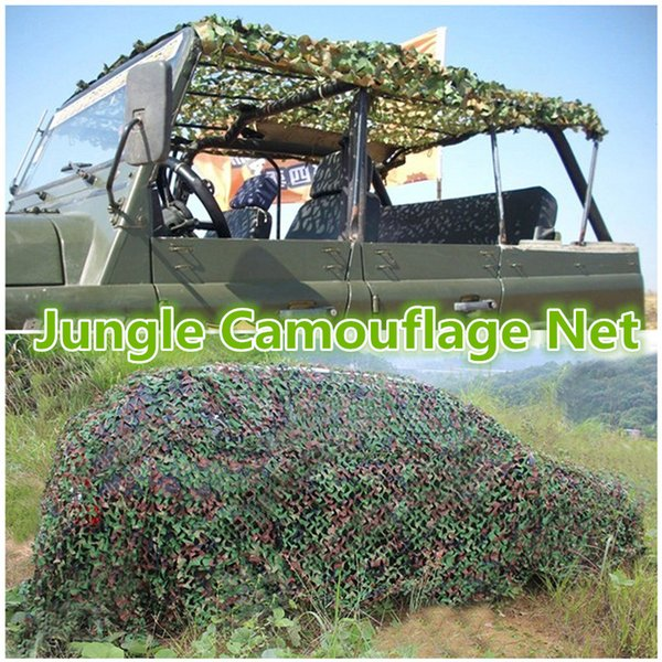 3mx5m/ 9.8ft x 16.4ft camo netting blind for hunting party decoration sun shade outdoor watching hide camping net thumbnail