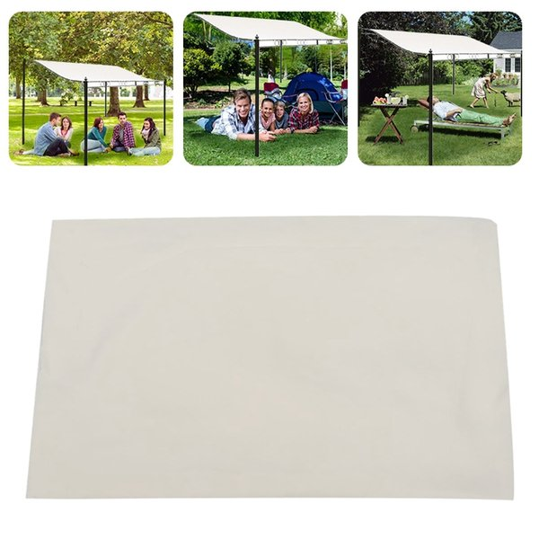 300d canvas waterproof tent canopy sun shelter cloth outdoor tent roof cover patio awning garden supplies tool thumbnail