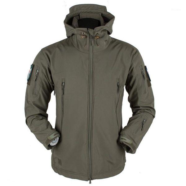 2019 new brand men's fishing jacket waterproof ski jackets coat softshell tactical jacket fleece warm jakcet clothing1 thumbnail
