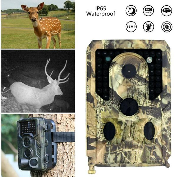 12mp 1080p hunting camera wildlife trail infrared night vision thermal imager video cameras hunting traps track scouting1 thumbnail