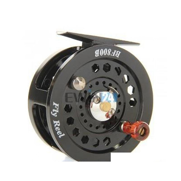 1piece fly flies fishing reels reel freshwater loop right left handed black new and selling fyovx thumbnail