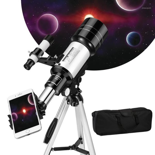 150x refractive space telescope astronomical telescope monocularoutdoor travel spotting scope with tripod outdoor1 thumbnail