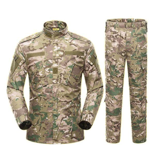13color men army uniform tactical suit cp special forces combat shirt coat pant set camouflage militar soldier clothes thumbnail