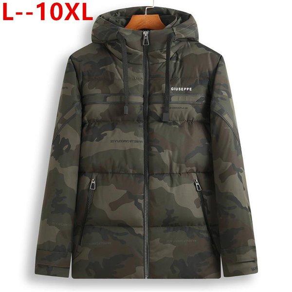 10xl 8xl 6xl 2020 new windproof winter jacket men hoodied parka men warm winter coat thicken zipper camouflage mens jackets thumbnail