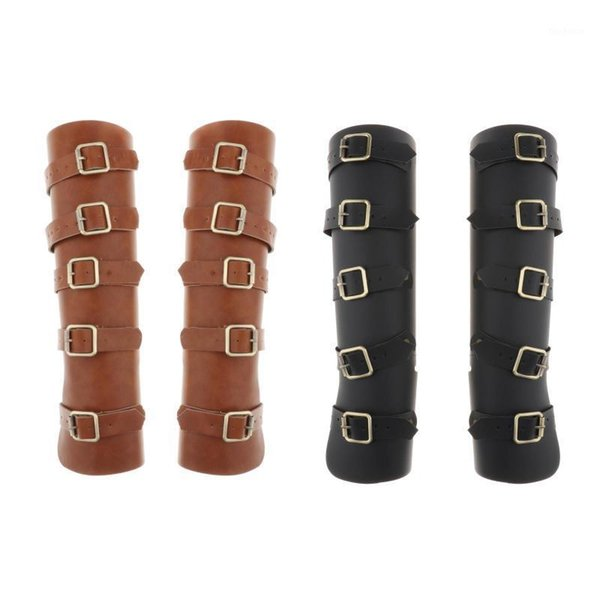 1 pair leather archery arm guard for traditonal bow1 thumbnail