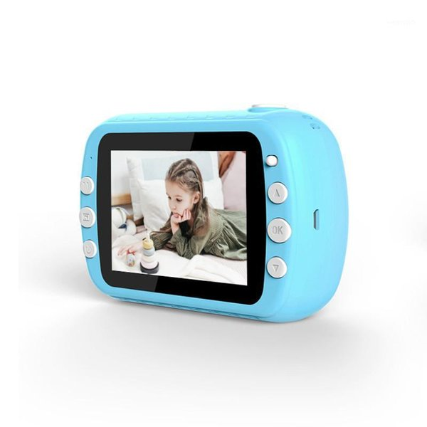 1200w children instant print camera 1080p hd kids camera toys with thermal p paper 32gb tf card 3 rolls of typing paper1 thumbnail