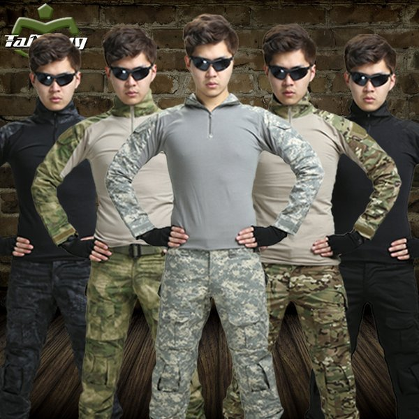 11 colors hunting clothing airsoft camouflage tactical jacket set unfirom paintball equipment clothing combat tactical jacket sets thumbnail