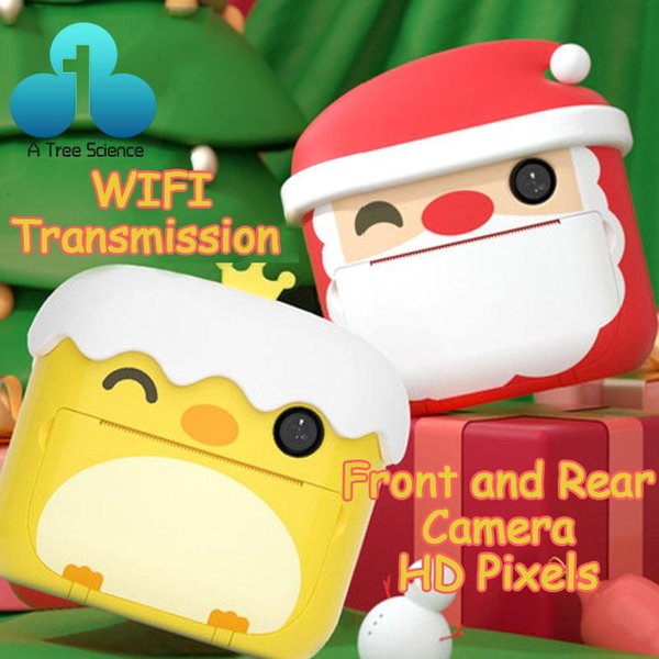 1080p hd children camera instant print camera for kids polaroid with thermal p paper toys for birthday gifts thumbnail
