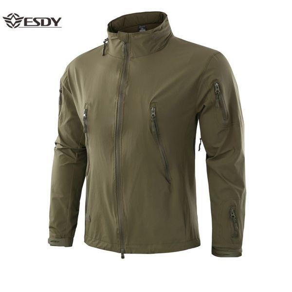 2019 outdoor waterproof softshell jacket hunting windbreaker ski coat women hiking rain camping fishing tactical clothing men q1201 thumbnail