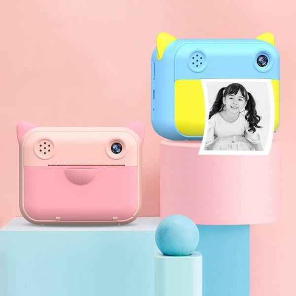 2.4 inch 12mp instant print camera hd thermal digital camera for kids p video children birthday gift boys girls toys thumbnail