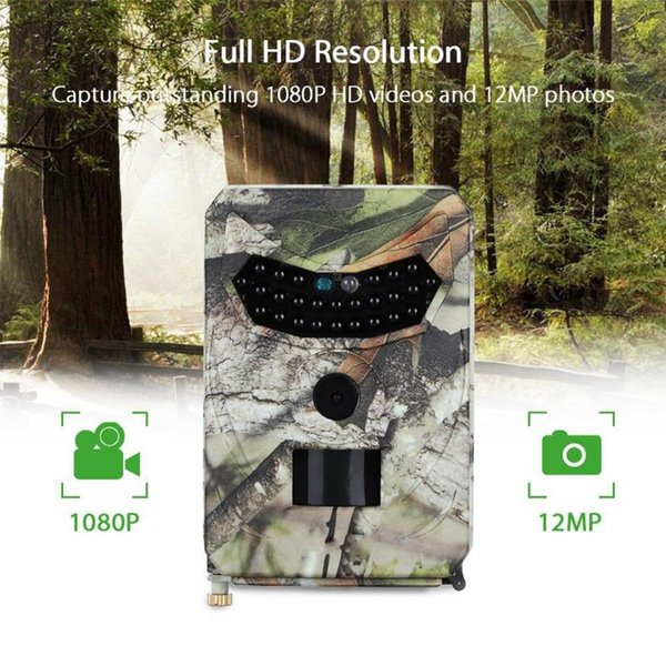 12mp 1080p pr100 outdoor hunting camera wildlife trail night vision cameras thermal imager camera for hunting scouting game thumbnail