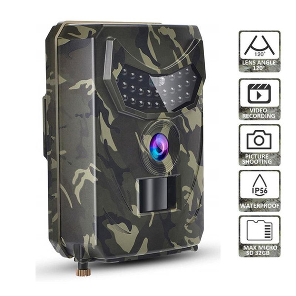 12mp 1080p hunting camera wildlife p trap night vision trail thermal imager video camares for hunting scouting game thumbnail