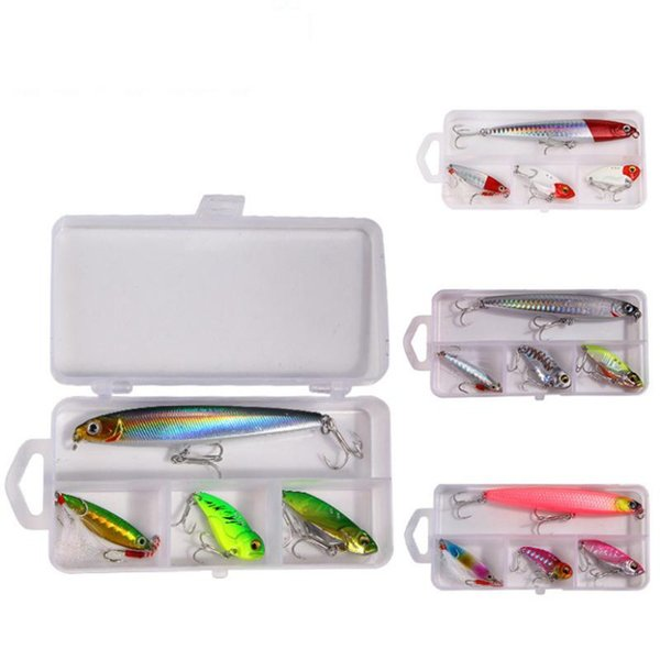 4pcs/box dygygyfz fishing spoon lures spinner bait 8.5-18g wobbler metal baits spinnerbait isca artificial with box hooks thumbnail