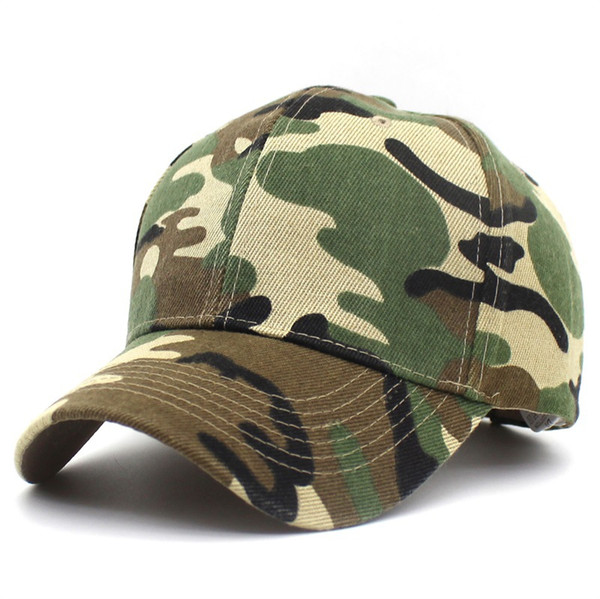 2018 snow camo baseball caps men summer mesh cap tactical camouflage hat for men women bone masculino dad hat caps thumbnail