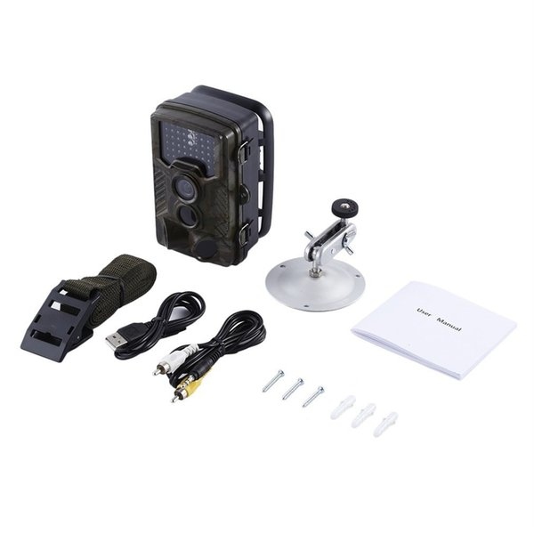 0.2-0.6s toggle speed waterproof ip56 scouting 2.4'' tft-lcd color monitor hd infrared trail digital hunting camera h-801 thumbnail