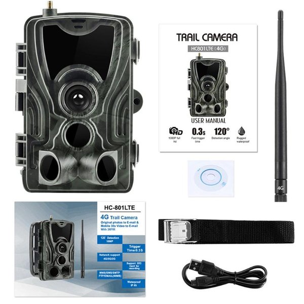 1080p 4k hd scream hunting trail camera tracking infrared night vision wild life cameras for video p traps thumbnail