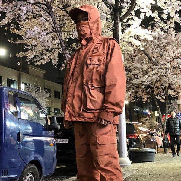 19fw riot mask tactical clothing camo mountain parka jacket windproof outdoor men women coat street casual sport outwear jacket hfymjk230 thumbnail