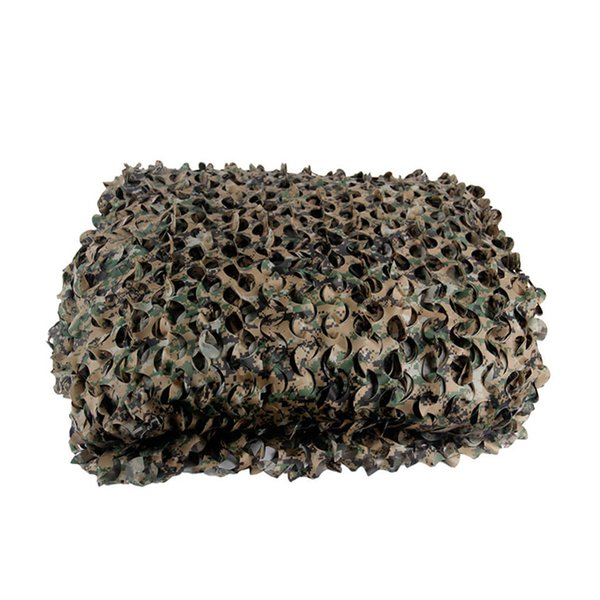 1.5*3m single layer camouflage nets 150d polyester for hunting camo netting outdoor shooting blind concealment mesh thumbnail