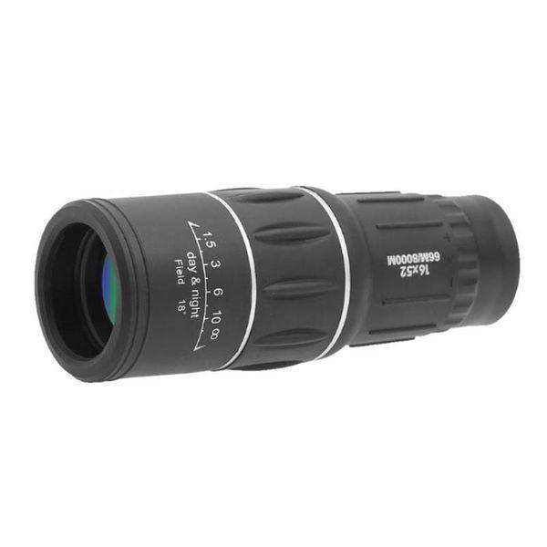 16x52 hd dual focus monocular waterproof outdoor hunting spotting scope telescope zoom optic lens binoculars coating lenses thumbnail