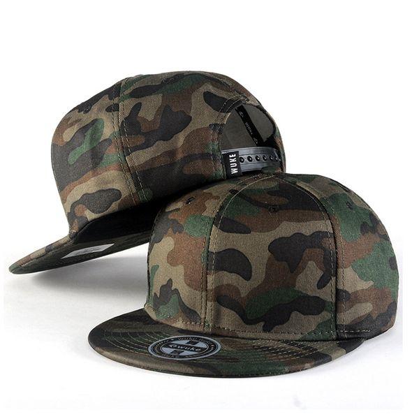 2019 fashion camouflage series baseball cap new spring summer european and american fashion hat men women jungle tactical caps thumbnail