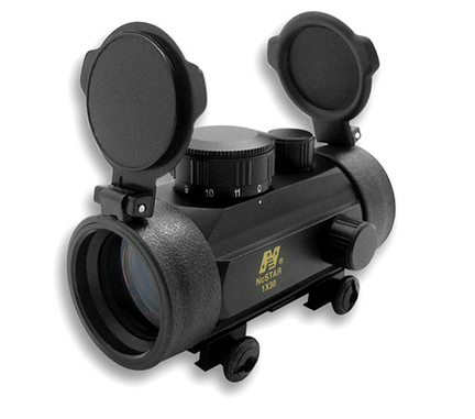 1x30 B-Style Red Dot Rifle Sight with Weaver Base thumbnail